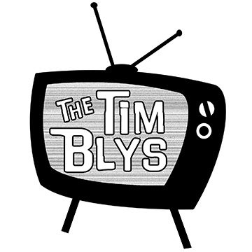The Tim Blys TV logo courtesy of Keri Cousins