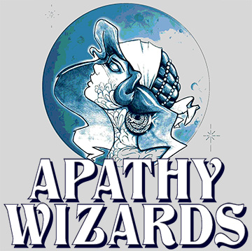 Apathy Wizards crystal ball logo